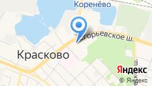 Администрация городского поселения Красково на карте