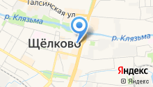 Крисмэс на карте