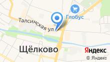 Совята на карте