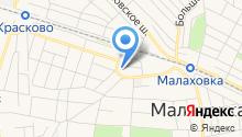 Группа Град на карте