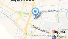 Щёлковское управление социальной защиты населения на карте