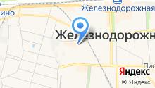 Спутник города на карте
