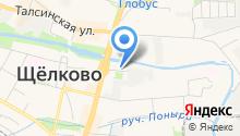 Щёлковская на карте