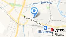 Афина на карте