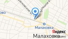 Малаховская Еврейская религиозная община на карте