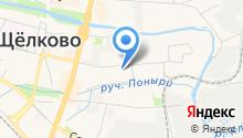 Щёлковский центр занятости населения на карте