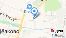 Мята на карте