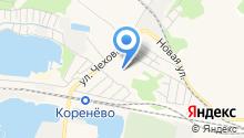 Коренёвская амбулатория на карте
