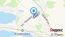 Кореневская средняя общеобразовательная школа №59 на карте