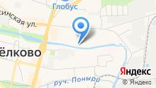 СДЛ-95 на карте