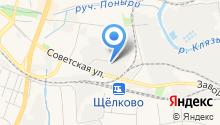 Московская областная таможня на карте