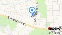 ЖКХ ГП Малаховка, МУП на карте