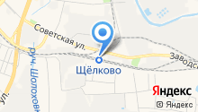 Продуктовый магазин на Вокзальной на карте