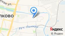 Славия на карте