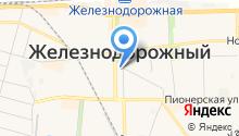 Администрация городского округа Железнодорожный на карте