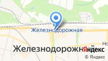 Юнион на карте
