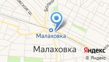 Малаховка на карте