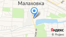 Малаховские Бани на карте