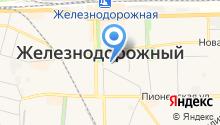Администрация городского округа Балашиха на карте