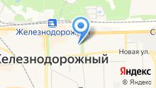 Территориальный отдел Управления Роспотребнадзора по Московской области в г. Железнодорожном, Реутове, Балашихе на карте