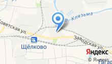 Сияние на карте