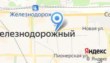 Краеведческий музей г. Железнодорожного на карте
