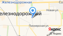 Прокуратура г. Железнодорожного на карте