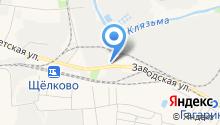 СНГ на карте