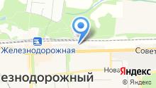 Стоматология на Советской на карте