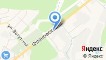 Дорпрогресс Щелково, ГУП на карте