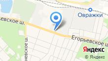 Техстройконтракт на карте