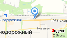 Водоканал городского округа Железнодорожный на карте