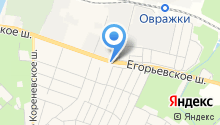 Малаховский на карте