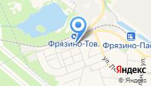 Московский областной центр дезинфекции на карте