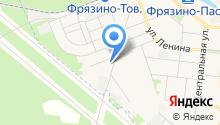 Почтовое отделение №141191 на карте