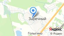 Загорский опытный завод пластмасс, ЗАО на карте