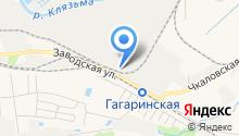 Центр шиномонтажа на карте