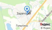 Почтовое отделение №141362 на карте