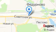 Балонник на карте