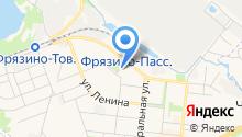 Почтовое отделение №141190 на карте