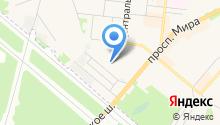 Средняя общеобразовательная школа №4 с углубленным изучением отдельных предметов на карте