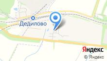 Городская библиотека №4 на карте