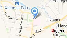 Ювелирный на Московской 8 на карте