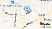 Центральная городская больница им. М.В. Гольца на карте