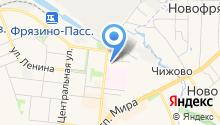 Магазин по продаже мясной продукции на ул. Новая на карте