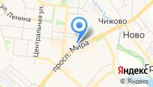 Совет депутатов на карте