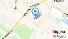 Почтовое отделение №141195 на карте