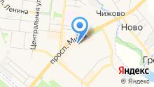 Городская касса на карте