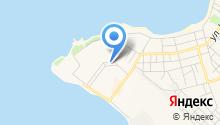 Хижина на карте
