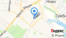 РОНИКОН-ФРЯЗИНО на карте
